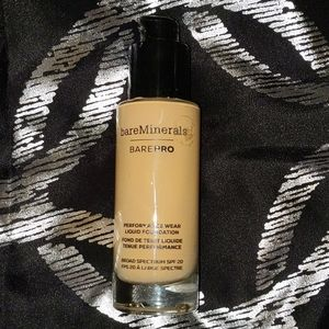 Bareminerals BarePro Foundations